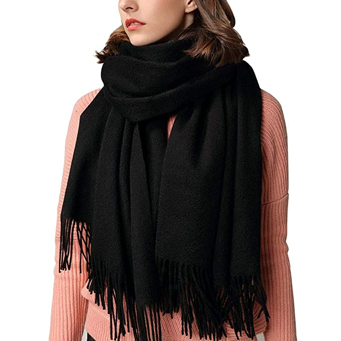 63a77dd08 Image Unavailable. Image not available for. Color: Cashmere Scarf, Fashion  Large Soft Warm Winter Scarf Wrap Shawl ...