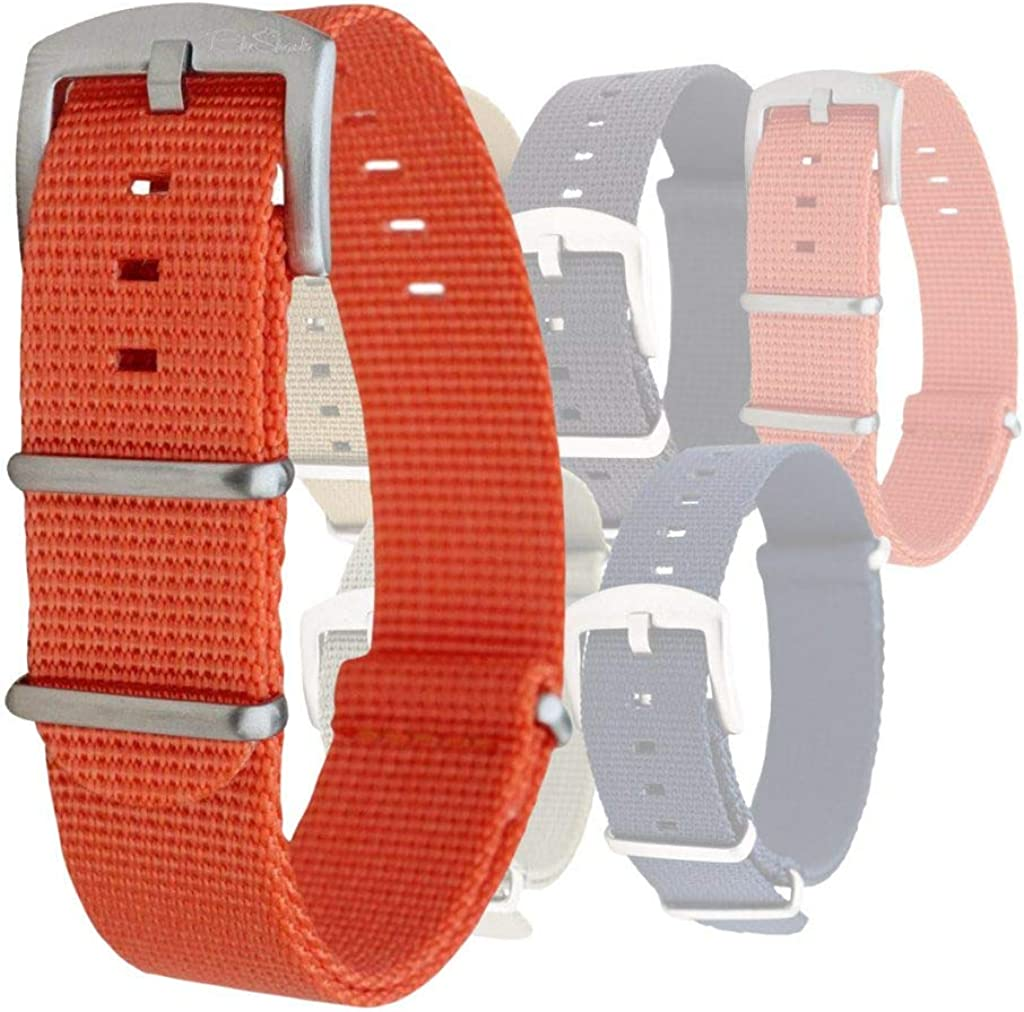 BluShark Orca Waffle Weave Nylon Watch Bands Multiple Sizes and Colors