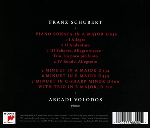 Piano Sonatas, D. 959 & D. 960: Arcadi Volodos, Schubert: Amazon ...