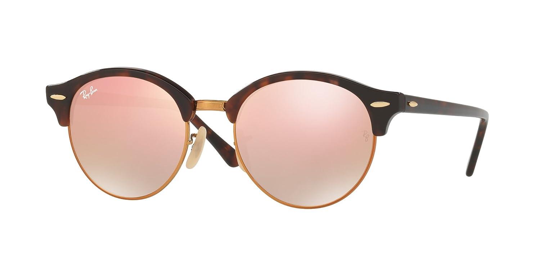 56f8938225 Amazon.com  Ray-Ban ClubRound RB4246-990 7Y Sunglasses  Clothing