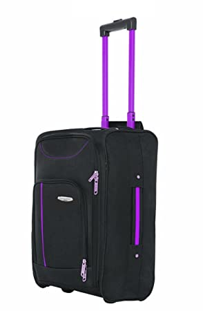 bd071a06e5 Hand Luggage Cabin Bag Trolley with Wheels Flight Bags Suit Case for  Easyjet