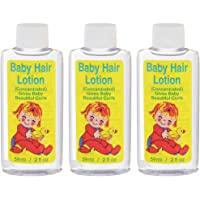 Gentle Baby Hair Lotion (Concentrated) for Baby's Fine Hair, 2 oz x 3 packs