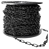 Baron 7223 Double Loop Chain, Carbon Steel, 200' L