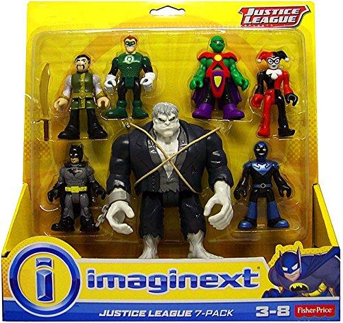 justice+league Products : Fisher Price Imaginext DC Comics Justice League Action Figure 7-Pack