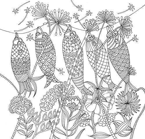 Zen Garden Adult Coloring Book 31 Stress Relieving
