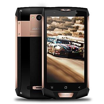 "Smartphones Libre Blackview BV8000 Pro 4G Moviles Libres 5.0"" FHD - Android 7.0 - Octa-Core - 6GB RAM + 64GB ROM - 8MP & 16MP Cámara - 4000mAh Batería ..."