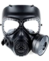 OFTEN Airsoft Paintbal Dummy Gas Mask Fan for Cosplay Protection Zombie Soldiers Halloween Masquerade Resident Evil Antivirus Skull