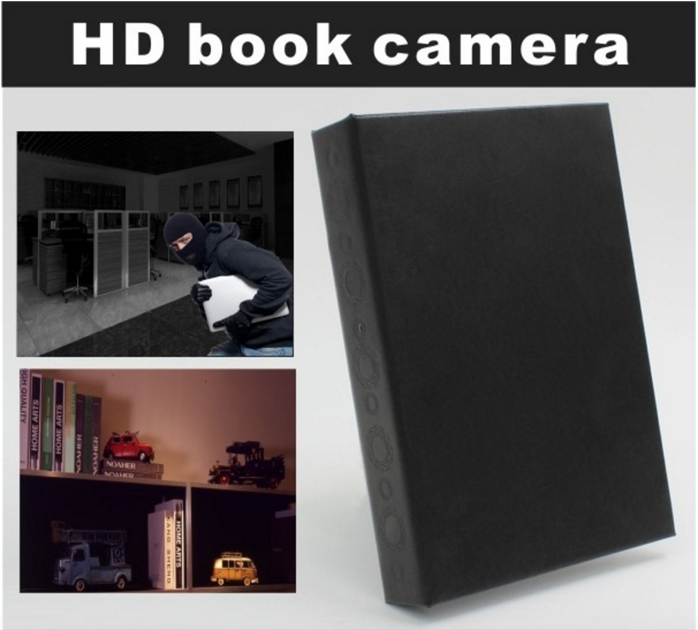 Hidden Spy Book Camera