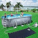 Bestway Power Steel Oval Pool Set