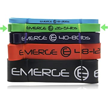 Emerge Pull Up Resistance Bands