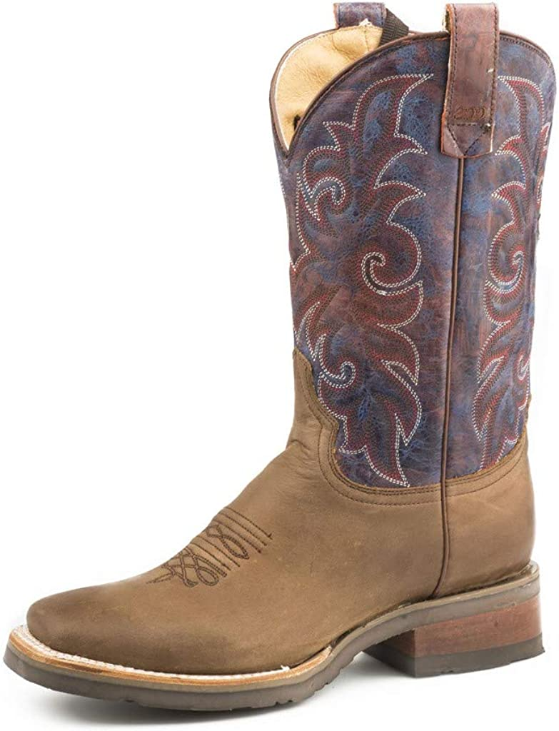 Roper Womens Brown Leather Rough Rider