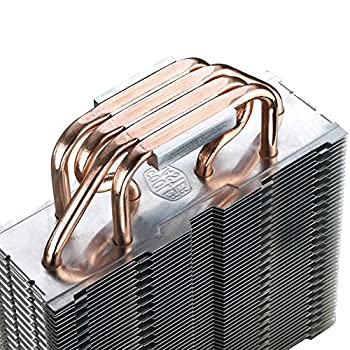 Cooler Master Hyper Rr-t4-18pk-r1 Cpu Cooler With 4 Direct Contact Heatpipes, Intelamd With Am4 Support 9