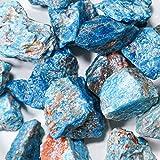 Crystal Allies 1 Pound Bulk Rough Blue Apatite