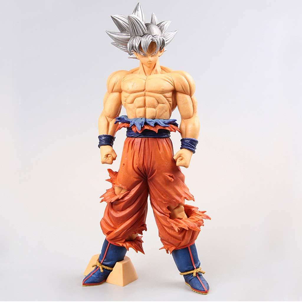 salida para la venta XJRHB Dragon Ball Sun Sun Sun Wukong plata Hair Modelo Anime Estatua  bienvenido a orden