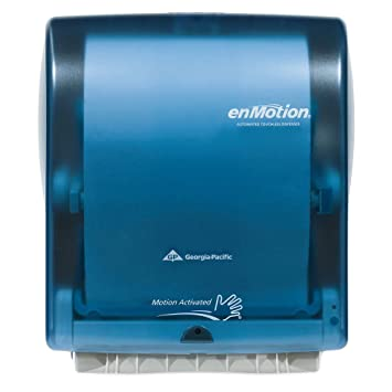 Georgia Pacific Enmotion 59460 Classic Automated Touchless Paper Towel  Dispenser, Splash Blue Part 35