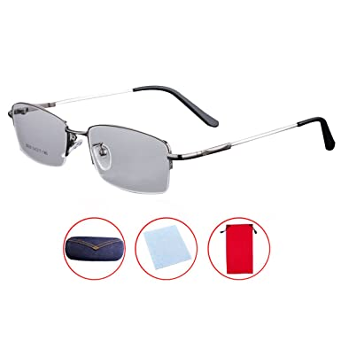 Mily Titanium Metal Frame Glasses Prescription Lens Eyeglasses With ...