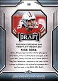 2019 Leaf Draft #59 Nick Bosa RC Rookie Football