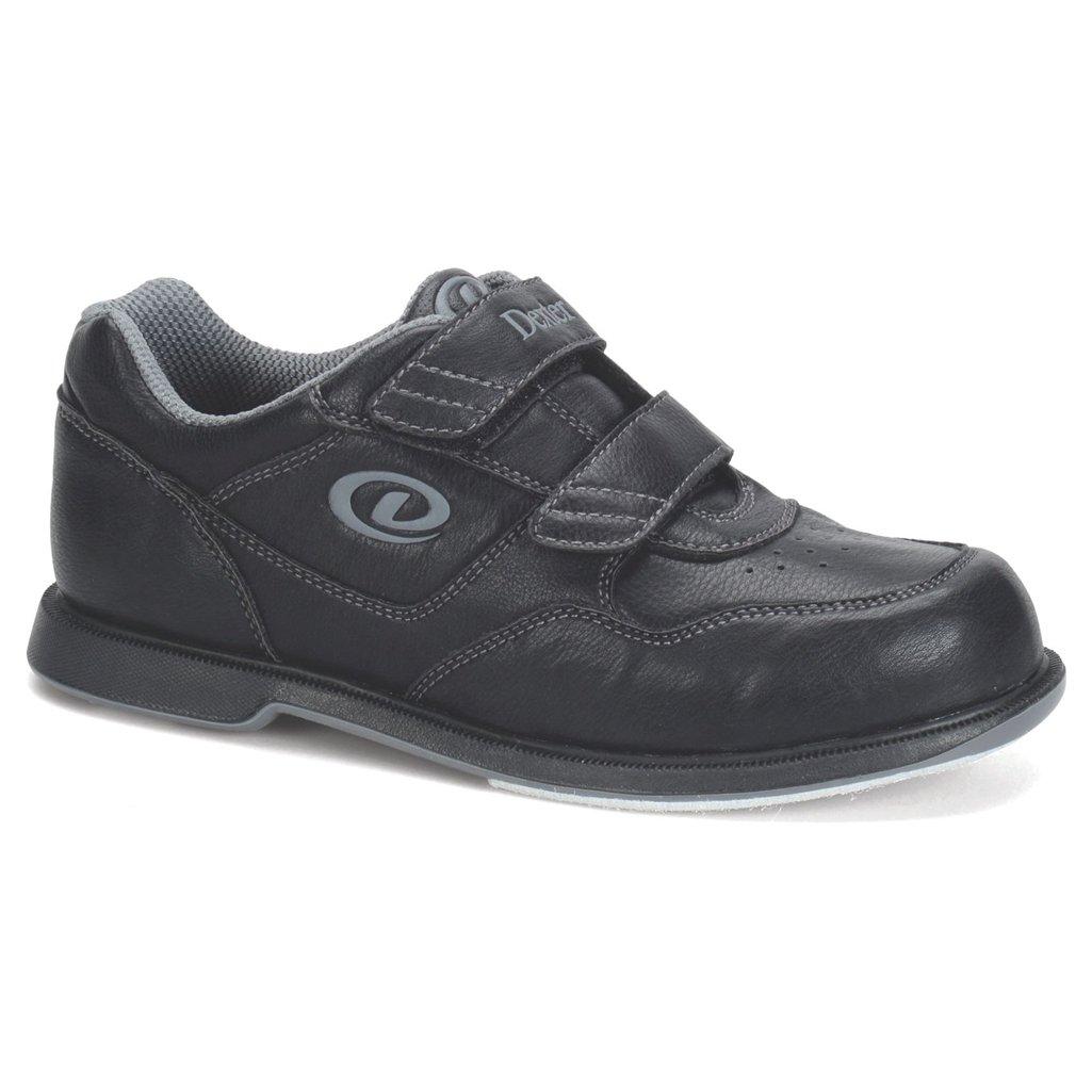 Dexter V Strap Bowling Shoes B00LB3J7U4 7 1/2 M US|Black
