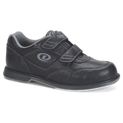 Dexter V Strap Bowling Shoes (4 M US, Black)