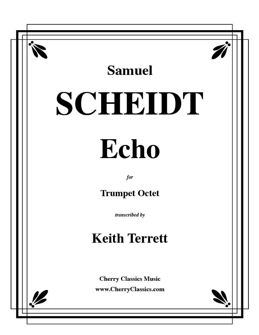 Echo for 8 part Trumpet Ensemble pdf