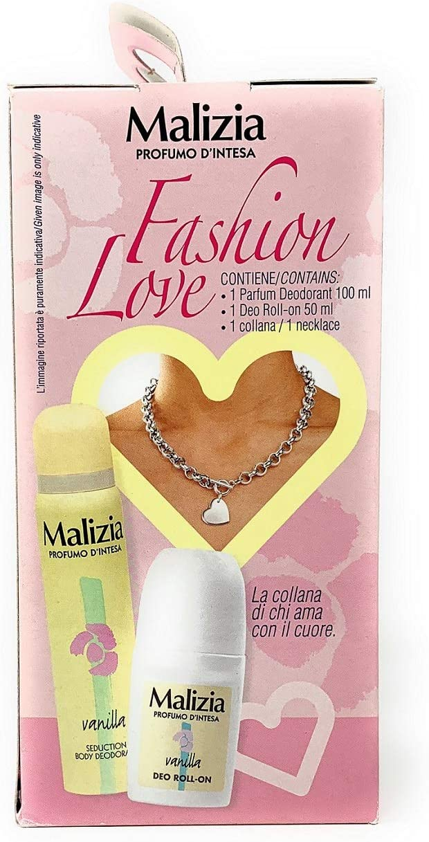 MALIZIA PROFUMO D'INTESA FASHION LOVE DEODORANTE 100ML, DEO