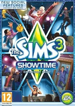 sims 3 showtime origin code free