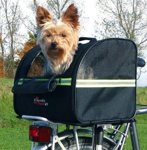 Ahorrar – Cesta de bicicleta para portaequipajes de perro hasta 8 ...