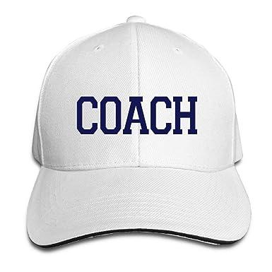 Blue Letters Coach Caps, WEINFUN Fashion Bone, Snapback Baseball ...