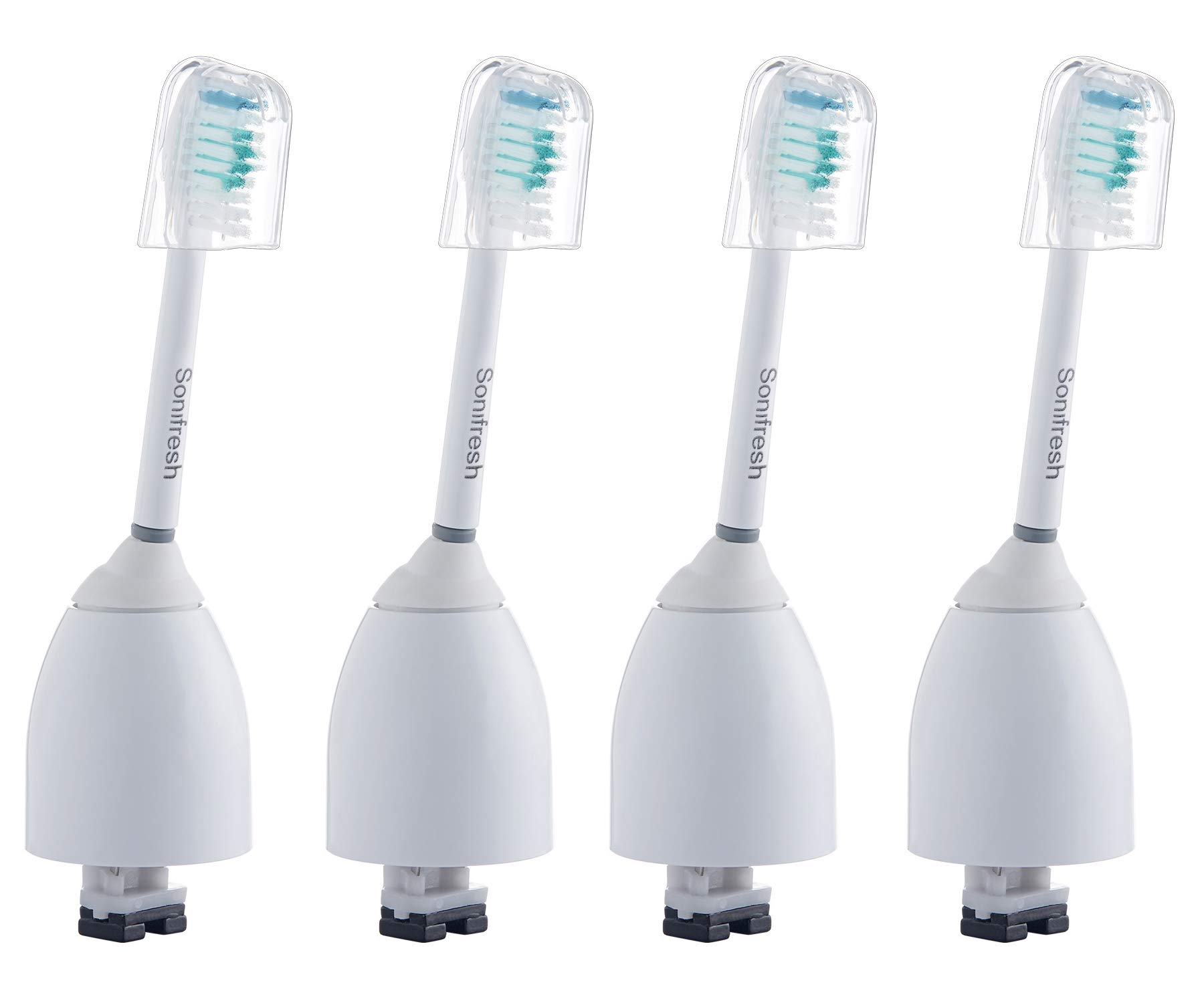Sonifresh Replacement Brush Heads - Toothbrush Heads Compatible with Philips Sonicare e series,essence,elite,Advance HX7001,4 Pack by Sonifresh