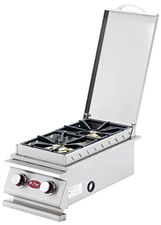 Cal Flame BBQ08899P Double Deluxe Side Burner