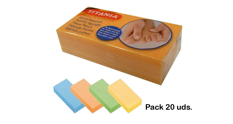Titania Pumice Sponge display box