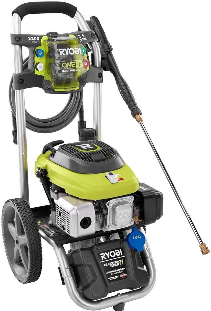 Amazon.com: Ryobi 3.200 PSI 2,5 Gpm arranque eléctrico ...