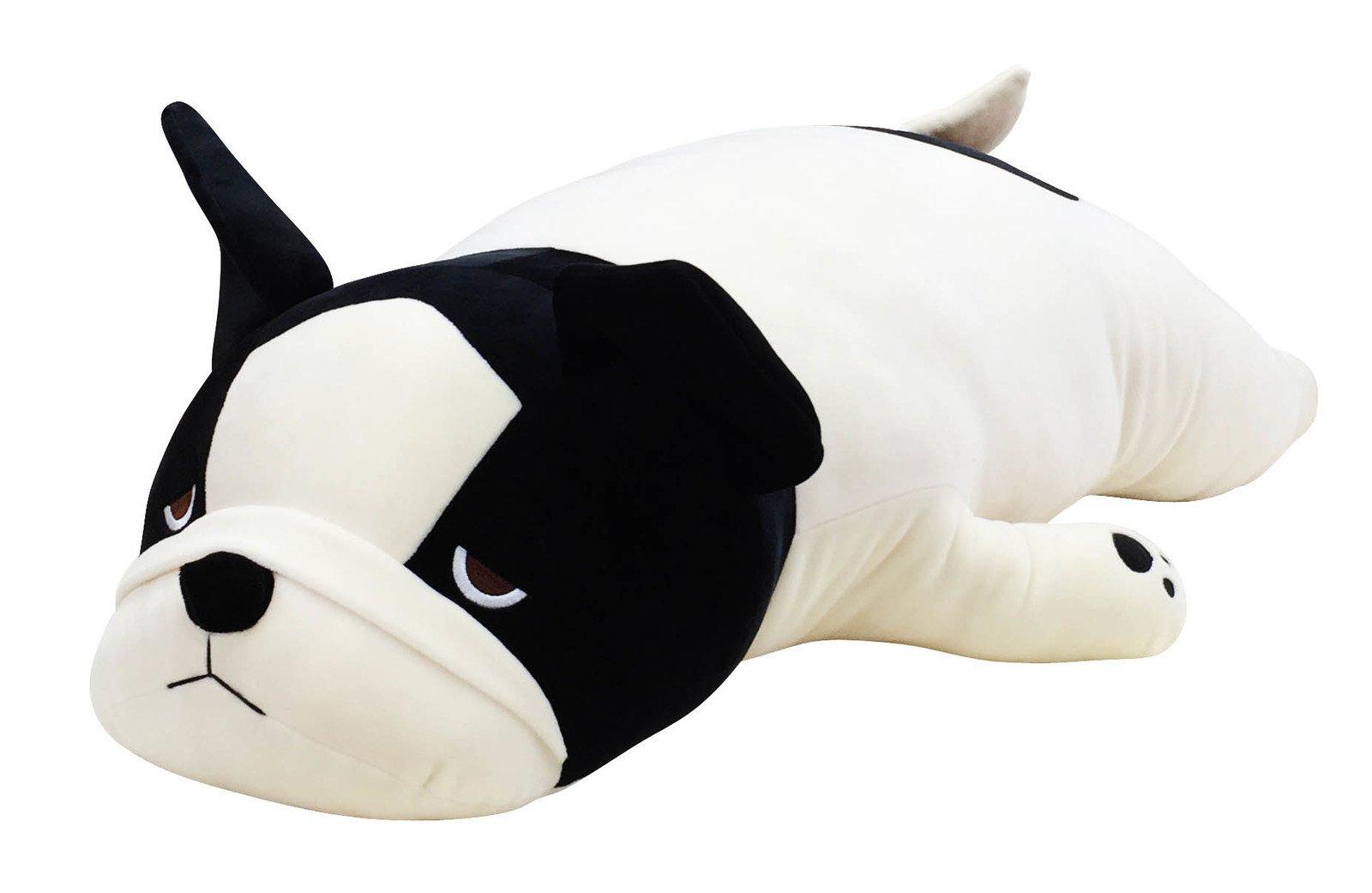 LivHeart Premium Nemu Nemu Super Soft Body Pillow Hug Pillow BIG French Bulldog Bubull from Japan
