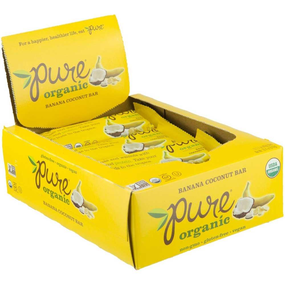 Kashi Pure Organic Fruit and Nut Banana Fruit and Nut Bar, 1.7 Ounce -- 144 per case.