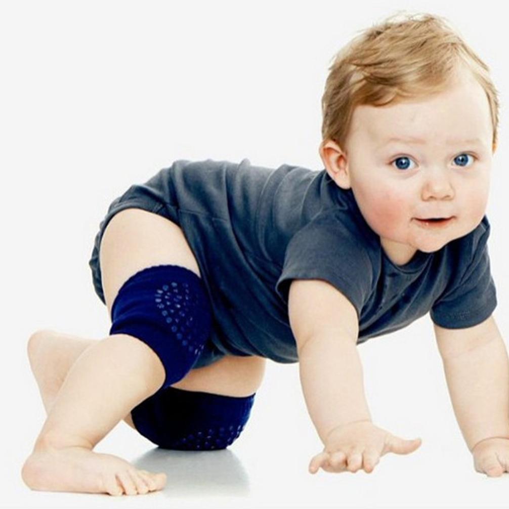 Creazy Baby Crawling Anti-Slip Knee Compression Sleeve Unisex Kneecap Coverage
