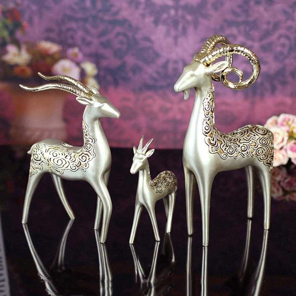 ALHX 部屋の装飾ホームアクセサリーを生きてホームヤギは工芸ヨーロッパスタイルの装飾品を3匹の羊を樹脂 綺麗な