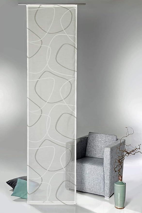 heimtexland® – Cortina para panel japonés, diseño abstracto ...