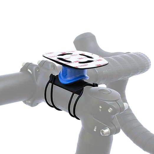 325 opinioni per Quad Lock Kit da Bici per Smartphone (Attacco Universale), Nero/Blu