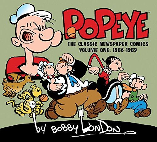 Popeye  The Classic Newspaper Comics By Bobby London Volume 1  1986 1989