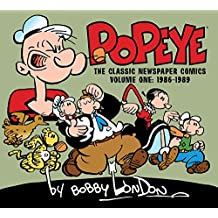 Popeye: The Classic Newspaper Comics by Bobby London Volume 1 (1986-1989)