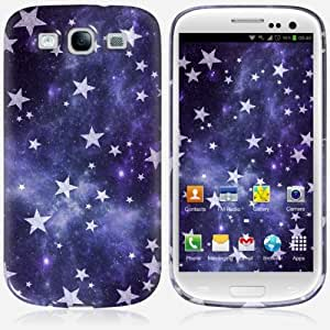 Galaxy S3 case - Skinkin - Original Design : All stars purple by Monika Strigel