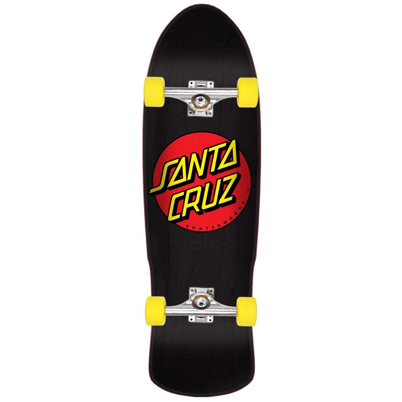 Santa Cruz Skateboard Complete Classic Dot 9.41'' Independent OG Slime Wheels