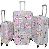 Magellan Luggage Trolley Bags Set of 4 Pcs , Silver , PC633T4