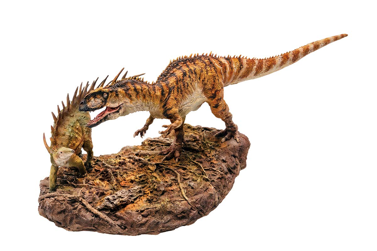 PNSO Dinosaur Museums Series Dayong The Yangchuanosaurus and Xiaobei The Chungkinggosaurus 1:35 Scientific Art Models by PNSO