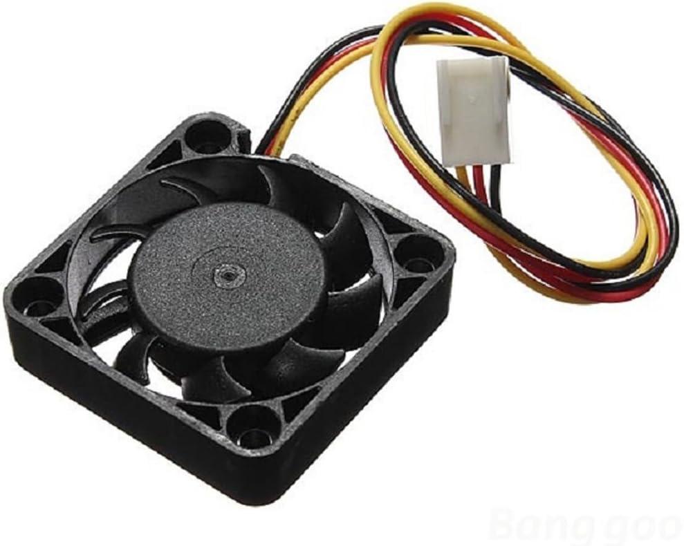 Ventilador Enfriador Ordenador 4 Pin 70mm de la CPU PC DC 12V ...