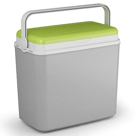 Nevera portátil con tapa para bebidas, botellas, comida, 24 litros ...