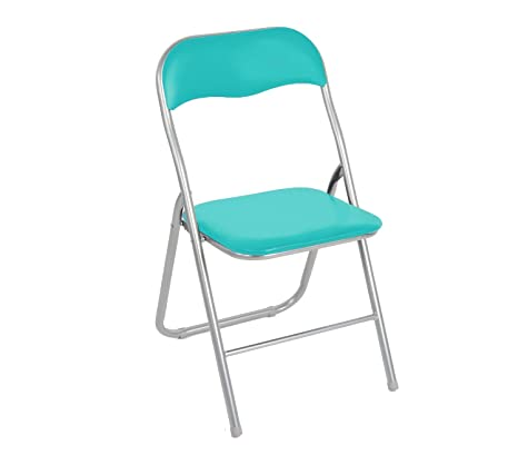 2008AN0816 Set de 4 sillas plegables mod.Lyon base metálica ...
