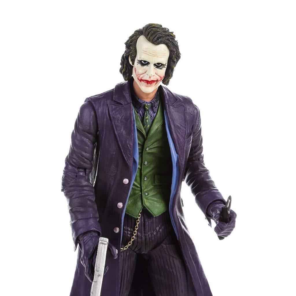 FJFRWMX Anime modellolo Personaggi Souvenir Ornamento da Collezione, Clown classeico uomoo congiunta autoattere Scultura Heath Collezione realistica giocattolo Statue