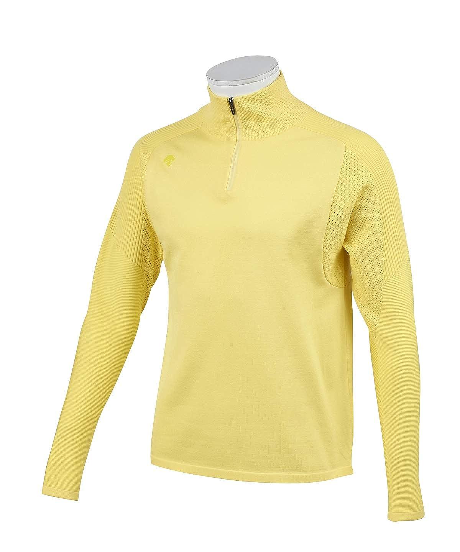 デサントゴルフ ゴルフウェア セーター メンズ Mエステルニットセーター DGMNJL00 YL00 M   B07RTW9ZBL