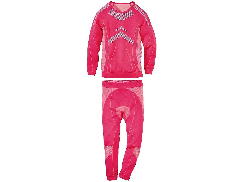 Kinder Mädchen 2-teilig Ski-Unterwäsche Stretch Größe Farbe wählbar